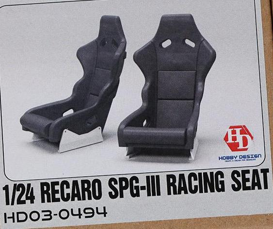 HOBBY DESIGN  RECARO SPG-III RACING SEAT  1/24  HD03-0494
