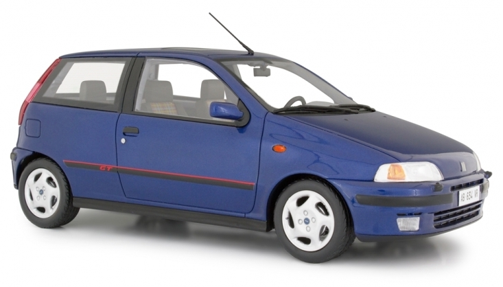 LAUDO RACING RESIN – FIAT PUNTO GT 1993  1/18 METALLIC BLUE