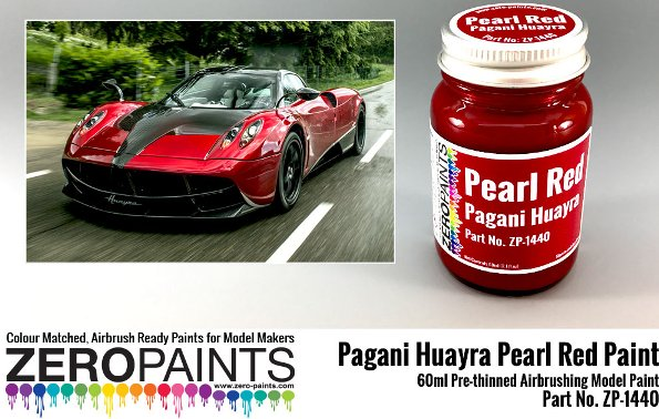 PEARL RED – PAGANI HUAYRA  60ml  ZP-1440