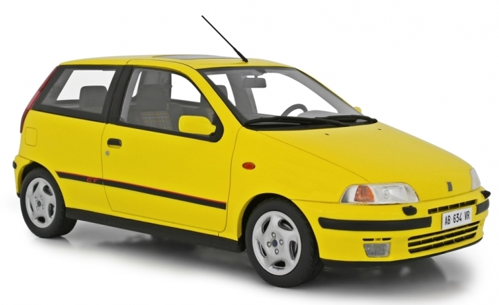 LAUDO RACING RESIN – FIAT PUNTO GT 1993  1/18 YELLOW