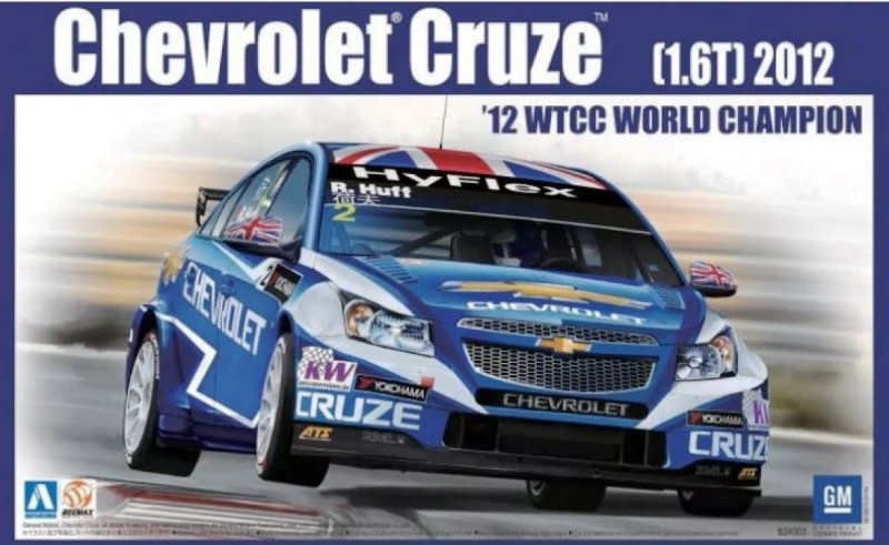 CHEVROLET CRUZE – WTCC WORLD CHAMPION 2012  1/24