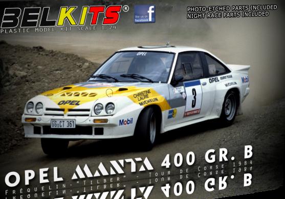 OPEL MANTA 400 Gr.B  1984  1/24  BEL008