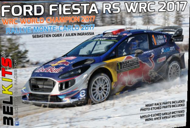 FORD FIESTA RS WRC 2017 OGIER  1/24  BEL012