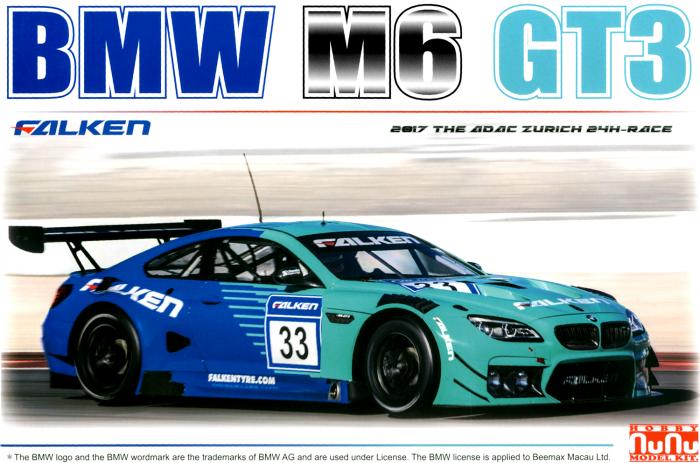 BMW M6 GT3 FALKEN 2017 – ADAC ZURICH 24h RACE  1/24