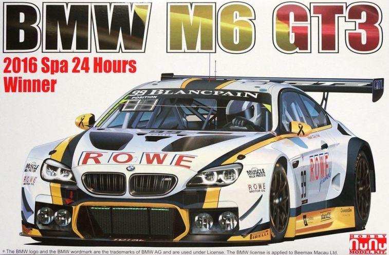 BMW M6 GT3 2016 SPA 24h WINNER  1/24