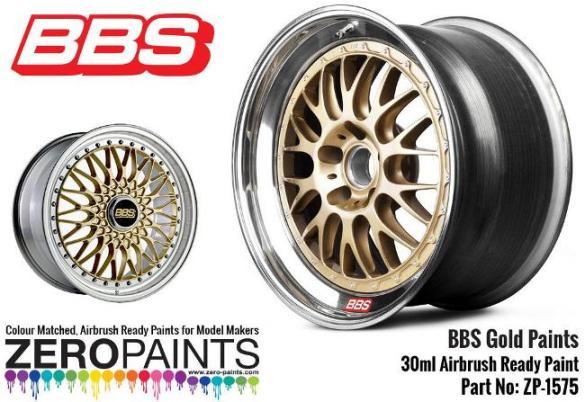 BBS WHEEL GOLD  30ml  ZP-1575