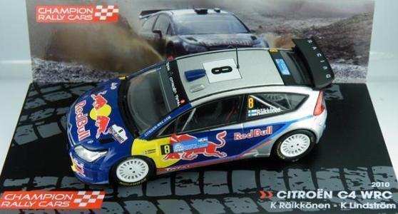 CITROEN C4 WRC 2010 RAIKKONEN  1/43