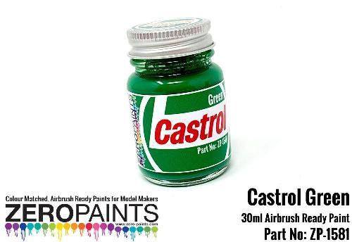CASTROL GREEN  30ml  ZP-1581