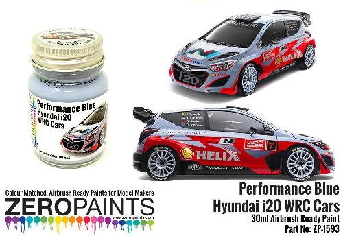 HYUNDAI I20 WRC CARS – PERFORMANCE BLUE  30ml  ZP-1593