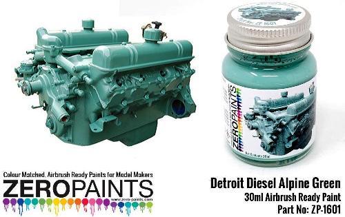 DETROIT DIESEL – ALPINE GREEN  30ml  ZP-1601