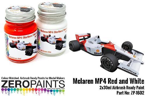 McLAREN MP4 – MARLBORO RED / WHITE  2x30ml  ZP-1602