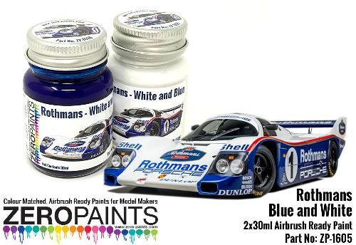 ROTHMANS – WHITE / BLUE  2x30ml  ZP-1605