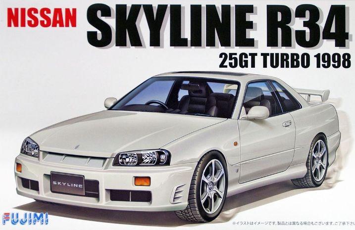 NISSAN SKYLINE R34 25GT TURBO 1998 1/24  039671