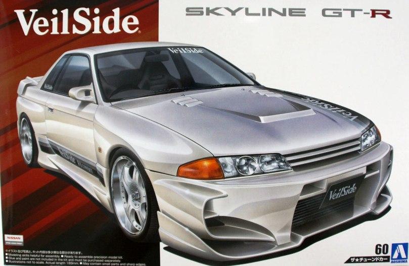 VEILSIDE COMBAT SKYLINE R32 GT-R  1990  1/24