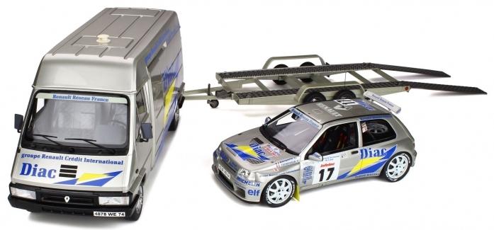 CLIO MAXI MONTE CARLO RALLY SET 1995  1/18  OT289B