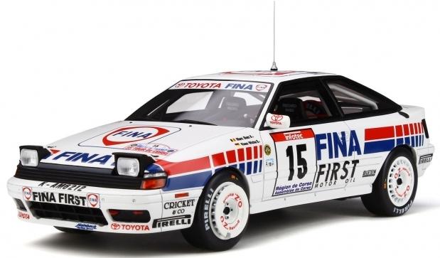 TOYOTA CELICA GT-Four ST165 -Tour de Corse 1991  1/18