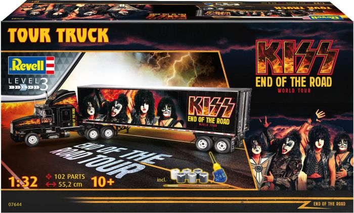 REVELL 07644  KISS – END OF THE ROAD WORLD TOUR TRUCK  1/32