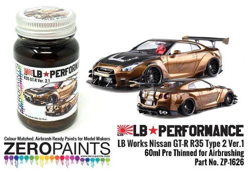 NISSAN GT-R LB PERFORANCE – BLACK GOLD 60ml  ZP-1626
