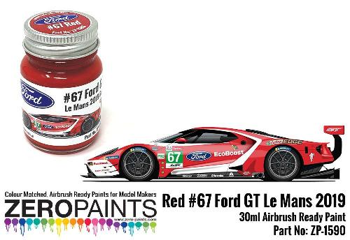 FORD GT – Le MANS RED 2019 30ml  ZP-1590