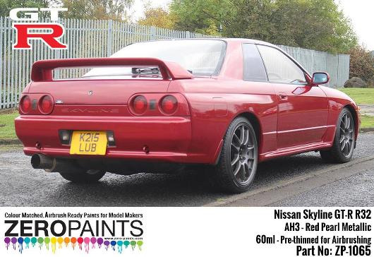 NISSAN GT-R – CHERRY RED PEARL 2x30ml  ZP-1065