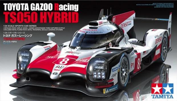 TOYOTA GAZOO RACING – TS050 HYBRID 1/24  24349