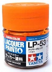 LACQUER PAINT – CLEAR ORANGE LP53 10ml