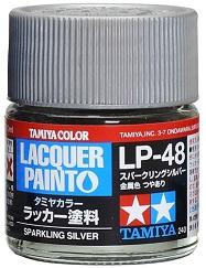 LACQUER PAINT – SPARKLING SILVER LP48 10ml