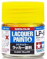 LACQUER PAINT – CLEAR YELLOW LP69 10ml