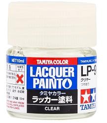 LACQUER PAINT – CLEAR LP9 10ml