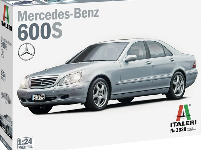 MERCEDES – BENZ 600S  1/24  3638