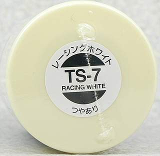 TAMIYA TS-7 RACING WHITE GLOSS 100ml