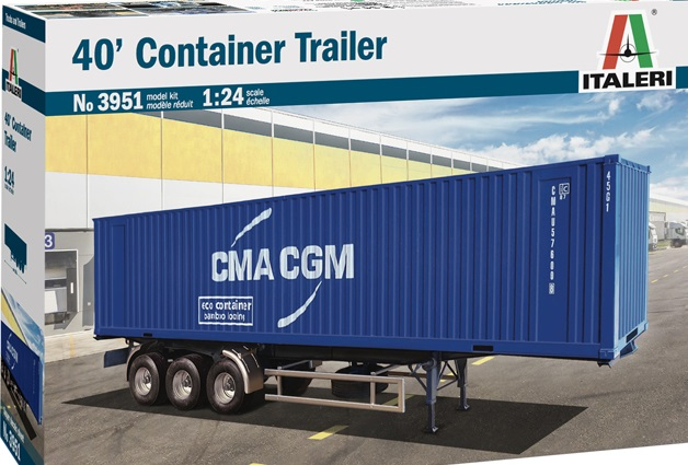 40′ CONTAINER TRAILER  1/24  3951