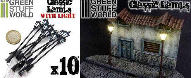 CLASSIC LAMPS – 10 x 8.5cm  GSW9269
