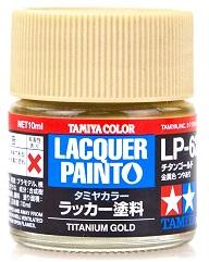LACQUER PAINT – TITANIUM GOLD LP62 10ml