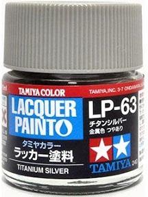 LACQUER PAINT – TITANIUM SILVER LP63 10ml