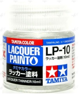 LACQUER PAINT – LACQUER THINNER  LP10 10ml