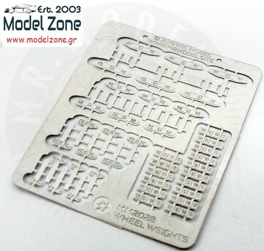 MR.MODEL – WHEEL WEIGHTS  1/24 – 1/25  MM2028