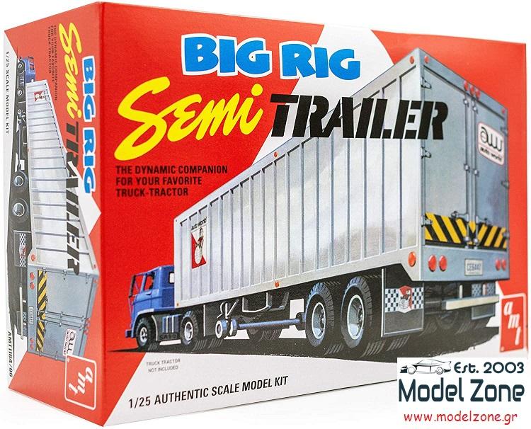 BIG RIG SEMI TRAILER 1/25  AMT1164/06