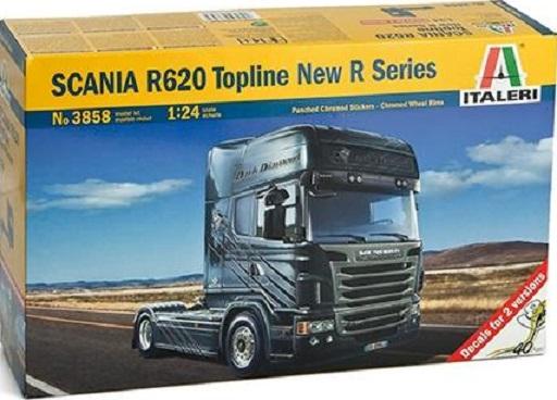 SCANIA R620 TOPLINE NEW R  1/24  3858