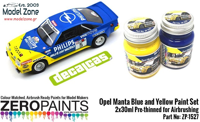 OPEL MANTA – BLUE / YELLOW 2x30ml  ZP-1527
