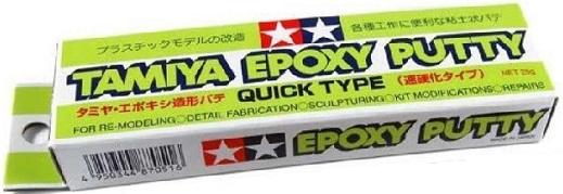 EPOXY PUTTY QUICK TYPE 25gr  87051