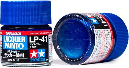 LACQUER PAINT – MICA BLUE LP-41 10ml