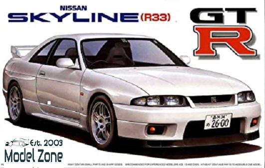 FUJIMI NISSAN SKYLINE GT-R R33  1/24  038803