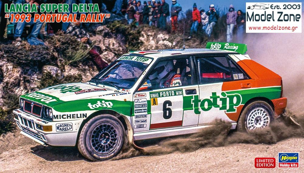HASEGAWA 20457 LANCIA SUPER DELTA 1993 PORTUGAL RALLY  1/24