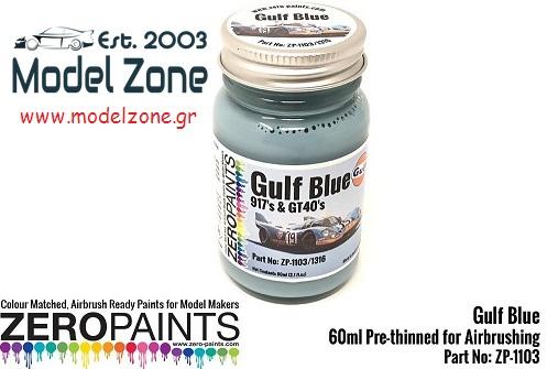 GULF BLUE – 917's + GT40's  60ml  ZP-1316