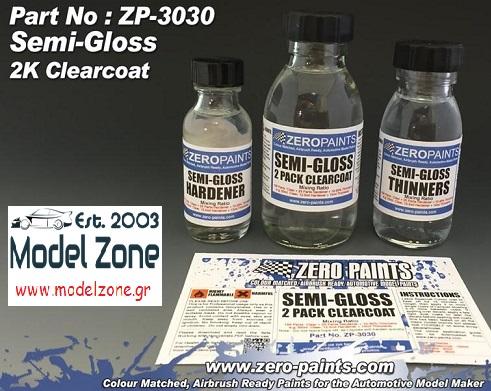 2K SEMI GLOSS CLEARCOAT SET  ZP-3031