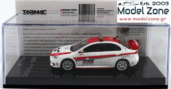 TARMAC – MITSUBISHI LANCER EVO X  PIKES PEAK SAFETY CAR  1/64